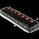 PremiumCord USB 2.0 HUB 7-portový