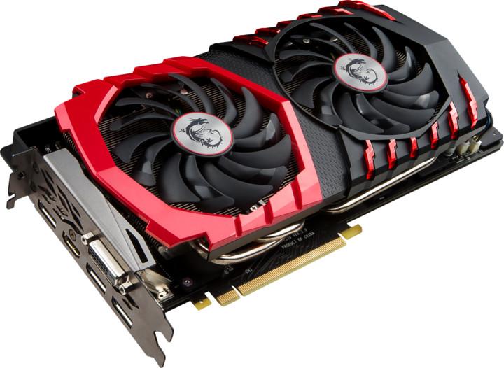 MSI GeForce GTX 1080 GAMING 8G, 8GB GDDR5X