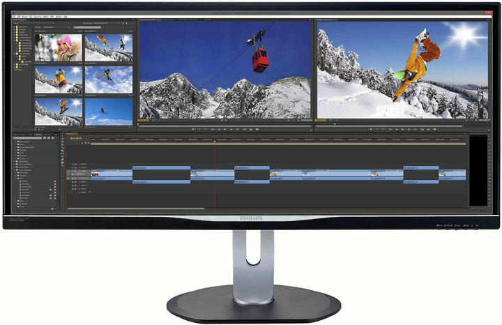 Philips BDM3470UP - LED monitor 34""