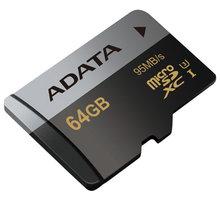 ADATA Micro SDXC Premier Pro 64GB UHS-I U3 - AUSDX64GUI3CL10-R
