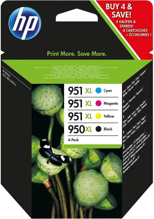 HP C2P43AE, Combo Pack, č. 950XL/951XL – ušetřete až 20 % oproti standardní náplni