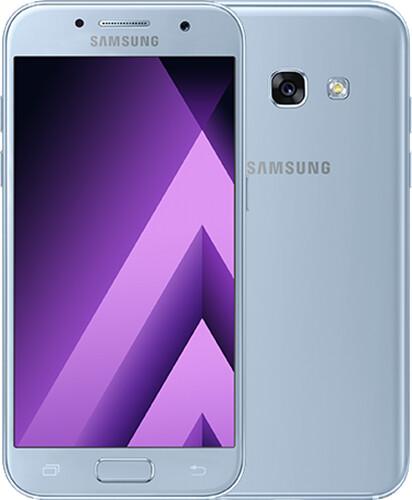 Samsung Galaxy A3 2017, modrá