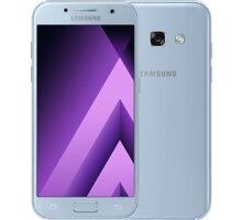 Samsung Galaxy A3 2017, modrá - SM-A320FZBNETL + Zdarma inCharge USB-C, červený (v ceně 349,-)