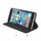 Tucano Libro Eco Leather Booklet pouzdro pro IPhone 6/6S Plus, černá