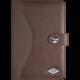 WEDO obal pro tablety mini Universal, hnědý 7,9''-8,3''  + Belkin iPad/tablet stylus, stříbrný