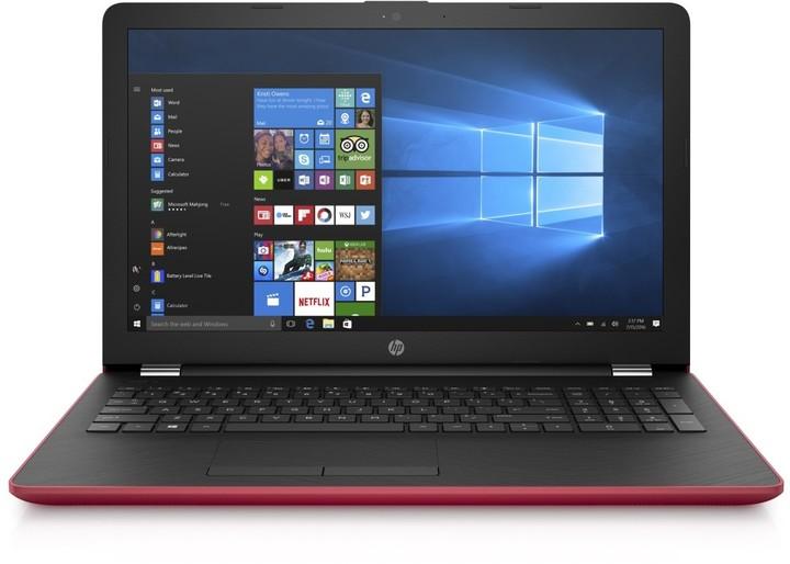 HP 15 (15-bw052nc), červená