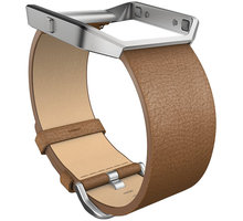 Fitbit Blaze Accessory Band, L, leather - FB159LBCML