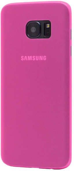 EPICO ultratenký plastový kryt pro Samsung Galaxy S7 Edge TWIGGY MATT - růžová