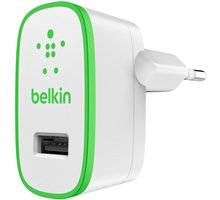 Belkin micro nabíječka 230V/5V, 2,4A, bílá - F8J040vfWHT