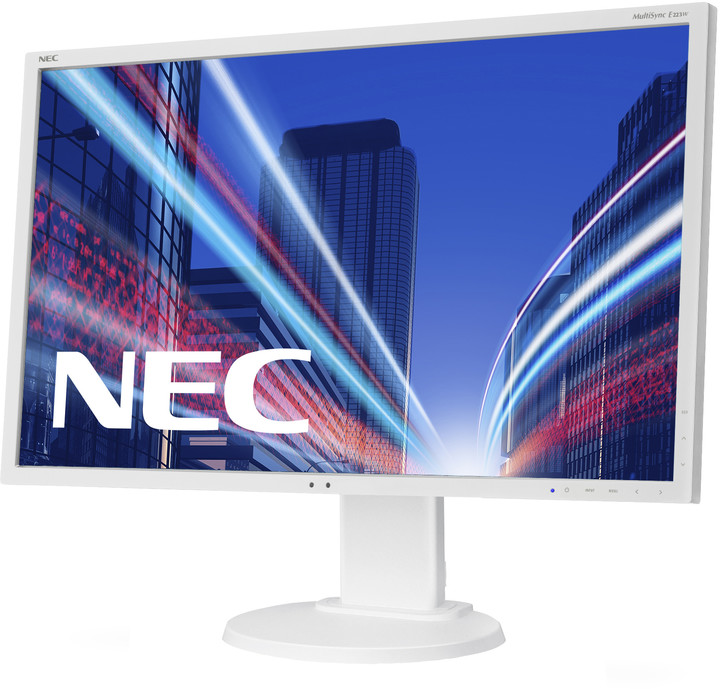 NEC MultiSync E223W, bílá - LED monitor 22""