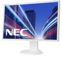 """NEC MultiSync E223W, bílá - LED monitor 22"""" - 60003335"""