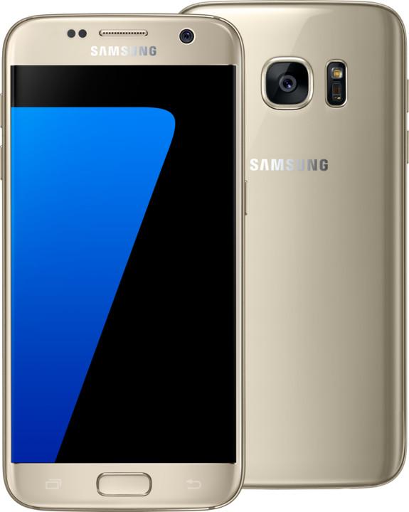 Samsung Galaxy S7 - 32GB, zlatá