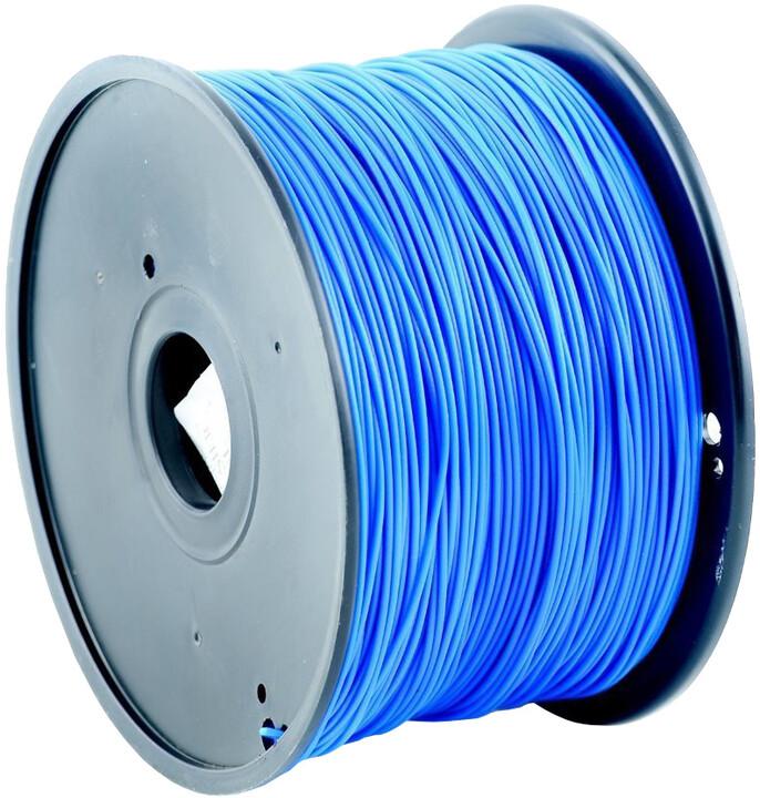 Gembird tisková struna (filament), PLA, 1,75mm, 1kg, modrá