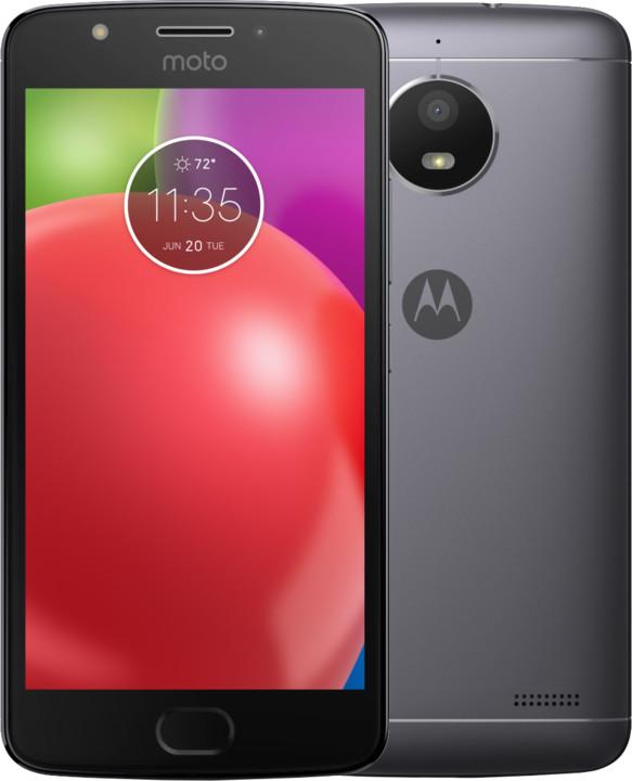 Motorola Moto E, šedá