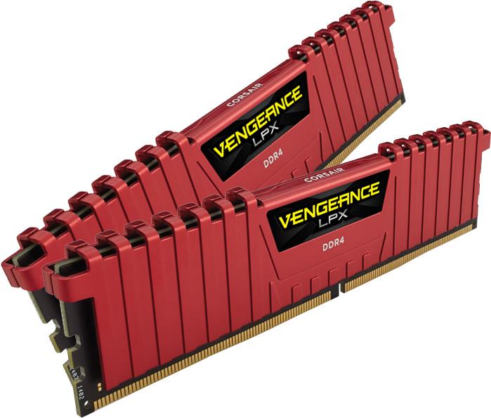 Corsair Vengeance LPX Red 8GB (2x4GB) DDR4 2133