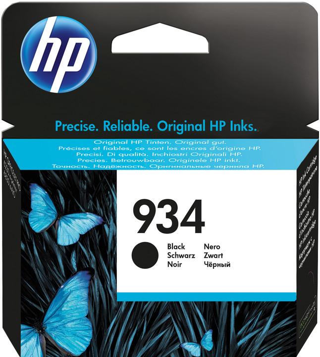 HP C2P19AE náplň č.934, černá