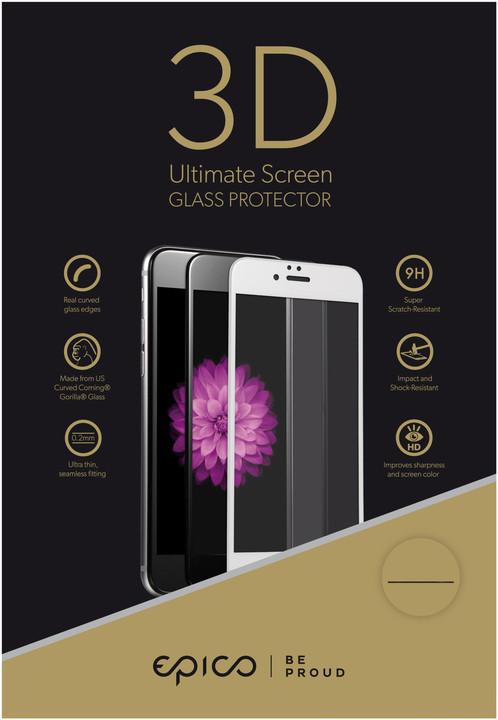 EPICO tvrzené sklo pro iPhone 6/6S EPICO GLASS 3D - bílá
