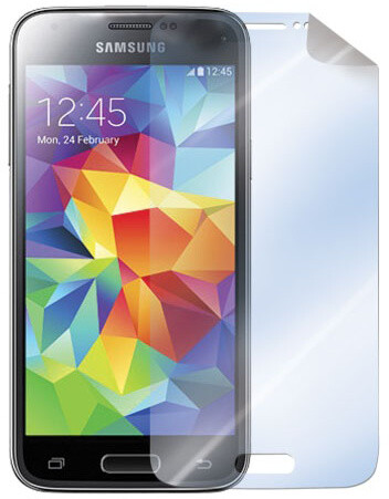 CELLY ochranná fólie displeje pro Samsung Galaxy S5 Mini, lesklá, 2ks