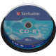 Verbatim CDR 52x 700MB Extra Protection, Spindle, 10ks