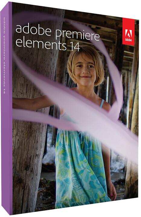 Adobe Premiere Elements 14 CZ - BOX