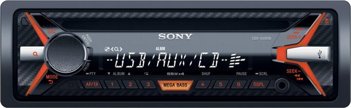 Sony CDX-G1101U