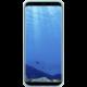 Samsung S8+, silikonový zadní kryt, modrá