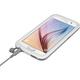 LifeProof Fre odolné pouzdro pro Samsung S6, bílé