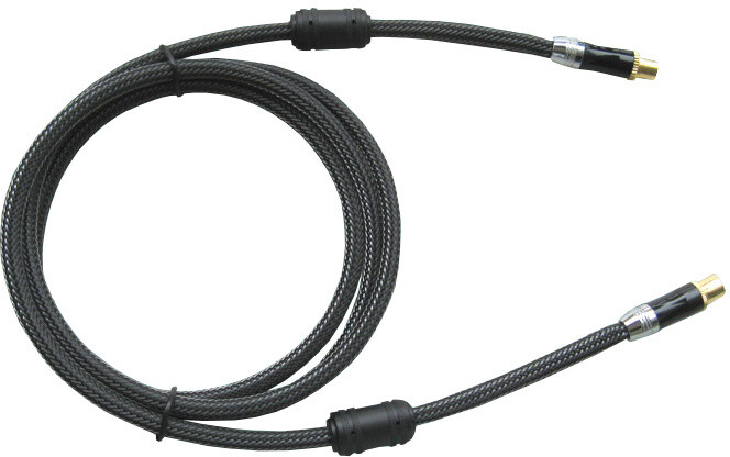 OPTICABLE Profi kabel anténní 75 Ohm, IEC169-2, M-F, 0,75m