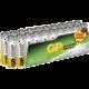 GP AAA, alkalická - 20 ks, fólie  + Zdarma LED svítilna plastová z edice MIMONI, klíčenka GP v hodnotě 49 Kč