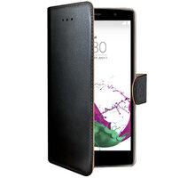 CELLY Wally pouzdro pro LG G4S, PU kůže, černá - WALLY517