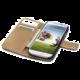 CELLY Wally pouzdro typu kniha pro Galaxy S4, černá
