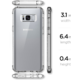 Spigen Crystal Shell pro Samsung Galaxy S8+, clear crystal