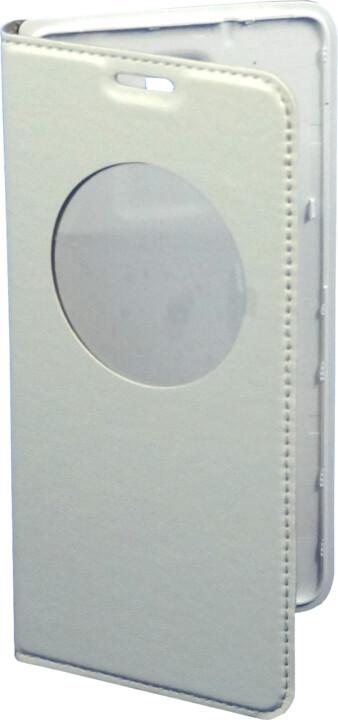 DOOGEE flipové pouzdro pro Doogee DG750, bílé