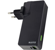 Leitz Complete USB Travel Wall Charger and Power Bank 3000 - 63070095