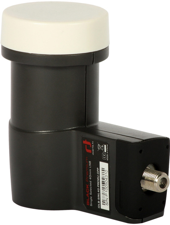LNB konvertor Inverto Black Premium Single 0,2dB