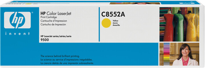 HP C8552A, žlutý