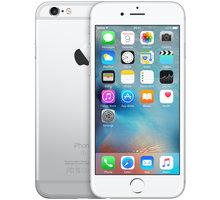 Apple iPhone 6s 128GB, stříbrná - MKQU2CN/A + Zdarma GSM pouzdro CELLY Frost pro Apple iPhone 6/6S, 0,29 mm, černá (v ceně 249,-) + Zdarma GSM reproduktor Accent Funky Sound, modrá (v ceně 299,-)
