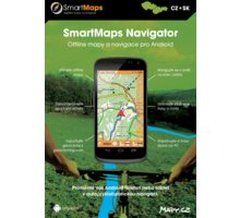 SmartMaps Navigator cyklo-turistická navigace pro ČR a SR