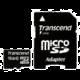 Transcend Micro SDHC 16GB Class 10 + adaptér