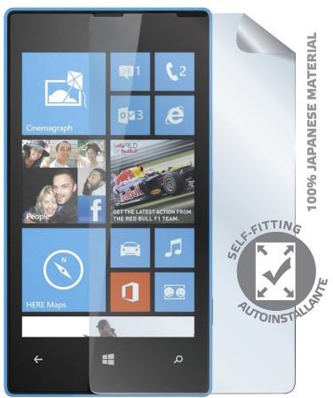 CELLY ochranná fólie displeje pro Nokia Lumia 520/525, lesklá, 2ks