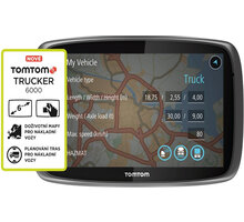 TOMTOM TRUCKER 6000, Lifetime mapy - 1FL6.002.08