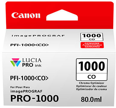 Canon PFI-1000CO, chroma optimizer