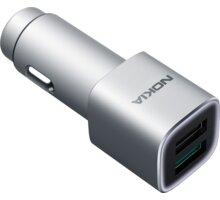 Nokia Fast Stylish Mobile Charger 2xUSB Qualcomm 3.0 - DC-801