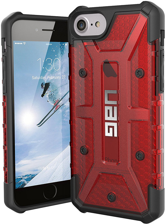 UAG plasma case Magma, red - iPhone 7/6s