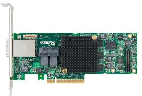 ADAPTEC RAID 8885 Single SAS/SATA 16 portů (8x int., 8x ext.), x8 PCIe