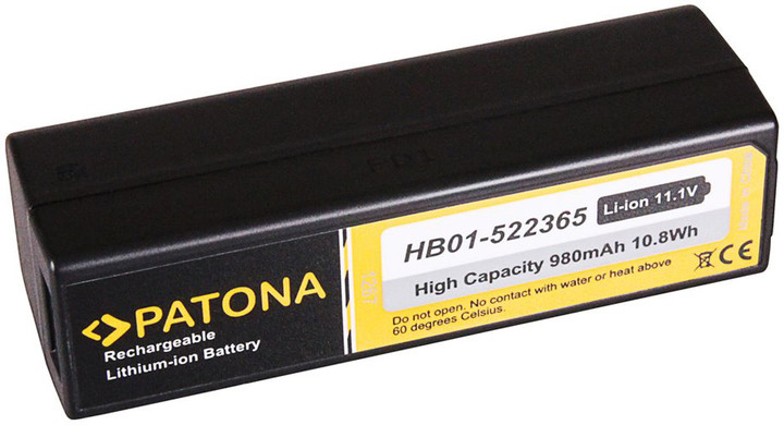 Patona baterie pro videokameru Zenmuse X3/X5 980mAh Li-Ion HB01