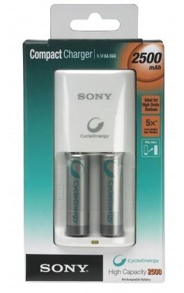 Sony Compact nabíječka BCG-34HS2, 2x 2500mAh