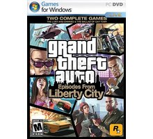 Grand Theft Auto: Episodes from Liberty City - PC - 8595071031050