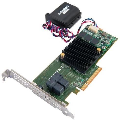 ADAPTEC RAID 7805Q Single SAS/SATA 8 portů, x8 PCIe
