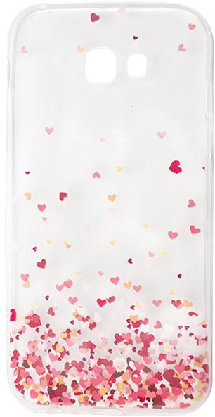 EPICO pružný plastový kryt pro Samsung Galaxy A5 (2017) FLYING HEART